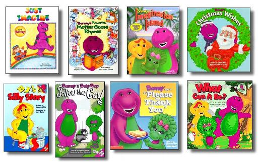 books - Barney Christmas Movie